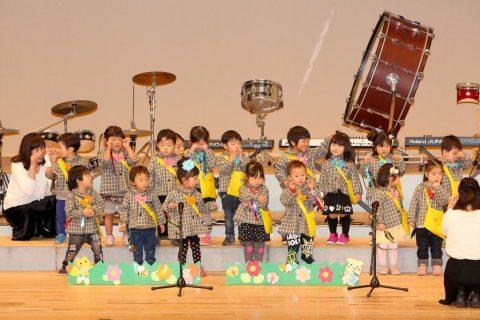 園の行事 音楽会